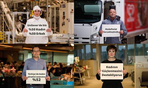 Unilever'de kadın erkek çalışan eşitliği